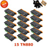 15PK TN880 Toner Cartridge for Brother DCPL5900 6700 5600 5650 5700 5850 Black
