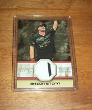 2011 Topps UFC Brian Stann 2 Color Serial # Worn Fighter Gear  Relic Swatch Card