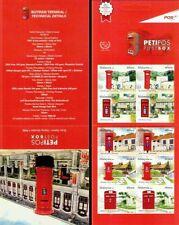 Post Box Malaysia 2011 Postal History (Booklet) MNH