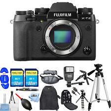 Fujifilm X-T2 Mirrorless Digital Camera (Body Only)!! MEGA BUNDLE BRAND NEW!!