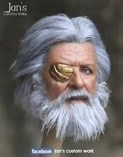 1/6 Hot CUSTOM REPAINT REHAIR Thor Odin toys figure head sculpt DX enterbay