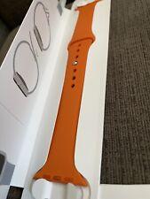 Apple Watch Hermes Series 6 Orange Sport Band 44mm