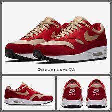 Nike Air Max 1 Atmos Prm Retro, 908366-600, UK 9.5, EU 44.5, US 10.5 Red Curry