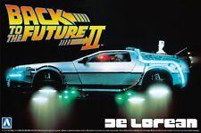 Back to The Future II Plastic Modelkit 1/24 Delorean LK Coupe Aoshima