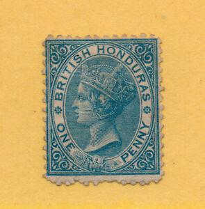 British Honduras - SG# 6 M no gum / P 12 1/2 / wmk crown CC  /   Lot 0420532