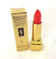 Yves Saint Laurent Rouge Pur Couture Lipstick 51 Corail Urbain - 0.13 oz- BNIB