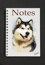 Alaskan Malamute Notebook/Notepad with small image on every page - By Starprint