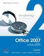 Exploring Microsoft Office 2007, Volume 1, 2nd Ed, Written to Vista, Barber, LN