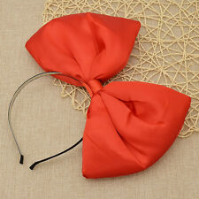Lolita Oversized Big Bow Headband Hair Bands Baby Headwear Hair Clip Cosplay