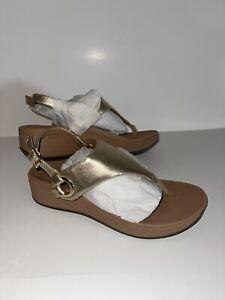 Vionic Pacific Jolie Metallic Sandals, Women's Size 8, Gold