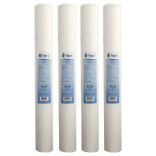20 x 2.5 Inch 20 Micron Purtrex PX20-20 Comparable  Sediment Water Filter 4 Pac