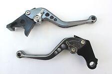 Ducati 848/EVO (07-13), CNC levers short titanium/chrome adjusters, F11/H11