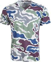 American Rag Mens Camo V-Neck T-Shirt Men's Large