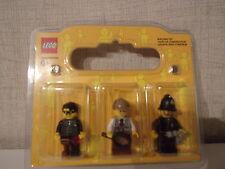 Lego 3er-Set Minifiguren (Dieb, Detektiv, Polizist) - NEU & OVP