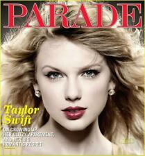 TAYLOR SWIFT PARADE MAGAZINE 2010 COVER INTERVIEW NYC APARTMENT IMPERFECT COPY