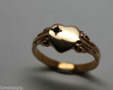 Solitaire Sapphire Rose Gold Fine Rings
