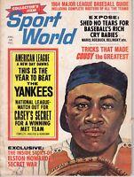 1964 Sport World, Baseball, magazine, Elston Howard, New York Yankees~NY Edition