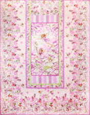 Flower Fairies PETAL FAIRY QUILT KIT Pink Fabric Twin Size Pattern Included