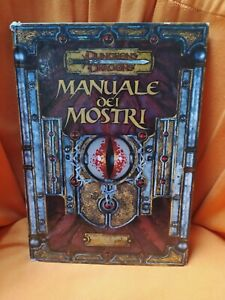 Manuale Dei Mostri D&D 3.5 Dungeons & Dragons