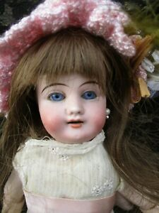 Beautiful Gebruder Kuhnlenz 44-21 Early Antique Doll 12.5 Inch/32cm