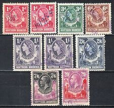 Northern Rhodesia 1925> revenue stamps ( KG V £20 & 7/6), used  (faults)