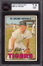 1967 TOPPS OPC O PEE CHEE Baseball #30 AL KALINE KSA 7.5 N-MINT + Detroit Tigers