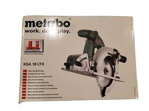 "Metabo KSA 18 LTX Cordless 18V Li-Ion 6-1/2"" Circular Saw - Bare Tool"