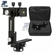 360° Panoramic Tripod Head+Gimbal Bracket + Suitcase Kit Set for Panoramic Shots