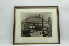Newcastle Upon Tyne The Quayside 1929 Framed Print  L17 x w15
