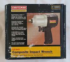 "NIB Craftsman Professional 1/2"" Composite Pneumatic Impact Wrench"