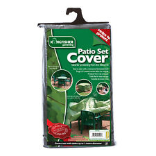 Kingfisher Waterproof Uv Treated Woven Outdoor Furniture Garden Patio Set Cover
