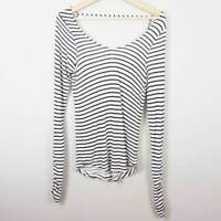[ CHELSEA SKY ] Womens Striped Top | Size M or AU 12 / US 8