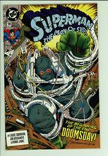 Superman Man of Steel 18 - Rare 3rd print - 1st Doomsday - High Grade 8.0 VF