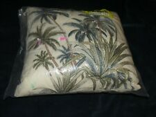 Tommy Bahama Serenity Palms Square Throw Pillow 12 x 12 x 5""