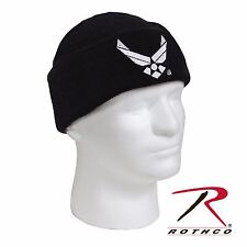 New AIR FORCE Acrylic Knit Beanie Watch Cap w/ Embroidered AIR FORCE Logo