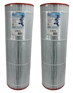 Unicel C-9415 Swimming Pool 150 Sq. Ft. Filter Replacement Cartridges (2 Pack)