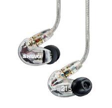 Shure SE215-CL Clear - Professional In-Ear Ohrhörer