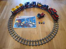 LEGO 9V 4565 - Schwerer Güterzug kompletter Zug mit BA, Schienen & Figuren - TOP