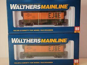 HO Walthers AAR 910 EJ&E Elgin Joliet & Eastern 40' Boxcar #61229 Pack 2