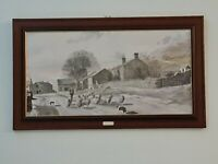 "Large Alan Ingham Beautifully Framed And Glazed Print ""Down from the Hills"""