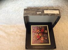 CLOVERLEAF Coasters Set 6 Boxed Flowers Floral Windsor.LCC 217.