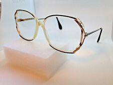 Vintage La Prima Optics Big Eye Tortoise 55-14-130 Plastic Frame Lp-2130