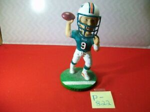 VINTAGE NFL BOBBLEHEAD DOLL JAY FIELDER DOLPHINS #9 NUMBERED LIMITED EDITION