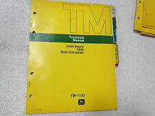 original John Deere Technical Service Manual 4300 Beet Harvester TM-1120