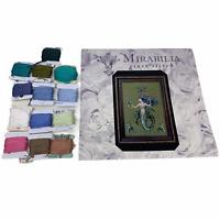 "OOP Mirabilia Nora Corbett MD98 ""Bluebeard's Princess"" Cross Stitch Kit + Floss"