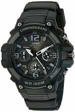 Casio Men's Chronograph Watch, Made of Heavy Duty Quartz Stainless Steel& Resin