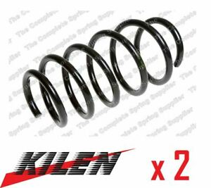 2 x NEW KILEN FRONT AXLE COIL SPRING PAIR SET SPRINGS GENUINE OE QUALITY 20142
