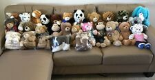 Build A Bear RANDOM Lot Full Size Plush Cat Dog Monkey Pink BABW Stuffed Animal