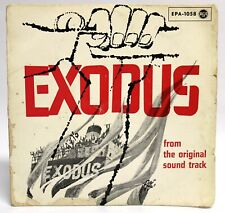 EXODUS Ernest Gold movie soundtrack Otto Preminger BOF OST EP GERMANY 45T G
