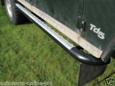 LAND ROVER DEFENDER 110 - TUBULAR SIDE RUNNER STEPS TOMB RAIDER STYLE(2)- DA7011